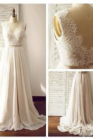 custom wedding dresses lace backless wedding dresses 2017 chiffon custom