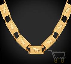 platinum plated necklace images 18k gold plated platinum plated thailand lucky elephant necklace jpg