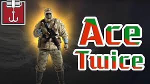 rainbow six siege kapkan ace twice youtube