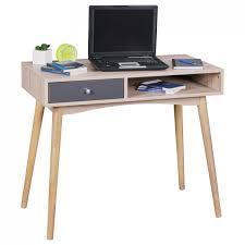 Schreibtisch Schmal Holz Finebuy Möbel Günstig Online Kaufen Real De
