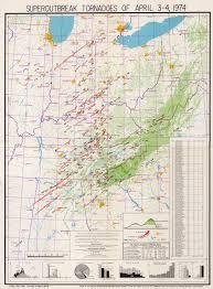 Tornado Map Tornado Technology Innovation Born From 1974 Tragedy Climate Central