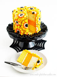 halloween cake decorating a candy corn cake corn cakes candy