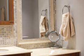 Bathroom Mirror Frame by Bathroom Mirrors Tile Bathroom Mirror Frame Nice Home Design