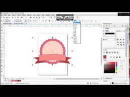cara membuat logo online shop eegami coreldraw tutorial cara membuat cute badge logo sederhana