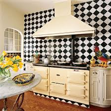 modest small kitchen design with aga stove hupehome