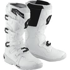 white motocross boots scott 350 mx boots white offroad quality and quantity assured save