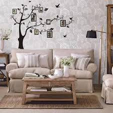 Tree Wall Decals For Living Room Family Photo Frame Tree Birds Classical Wall Decals Decorative