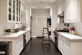 ideas for galley kitchens kitchen beautiful cool ideas for small galley kitchen
