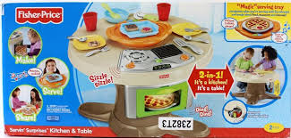 Fisher Price Servin Surprises Kitchen Table by Servin U0027 Surprises Kitchen U0026 Table Toy Oven Plate