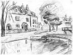 easy pencil drawings of nature pencil sketches of nature art