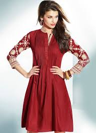 different types of necklines to try in your kurtis looksgud in