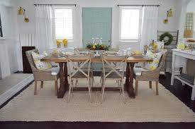 Easy Summer To Fall Dining Room Refresh Fox Hollow Cottage - Dining room table decorations for summer