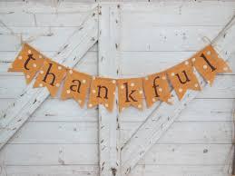 thanksgiving burlap banner thanksgiving decor thankful banner thanksgiving banner thankful