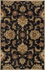 Black Persian Rug 26 By 6 26 X 6 Rectangular Rugs Online At Discount