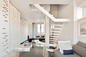 one of a kind penthouse with architectural details digsdigs