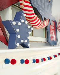 july 4th decorations craftaholics anonymous 4th of july mantle decor