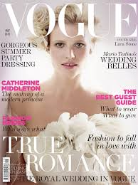 wedding magazines the royal wedding issue vogue may 2011 wedding inspirasi