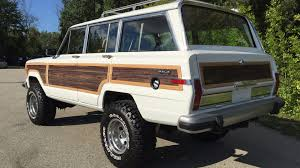 jeep wagoneer white 1988 jeep grand wagoneer f88 louisville 2016