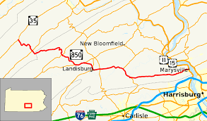 Appalachian Trail Pennsylvania Map by Pennsylvania Route 850 Wikipedia