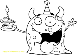 coloring pages happy boy birthday coloring pages elegant happy for kids ribsvigyapan com