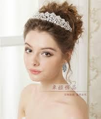 wedding headdress aliexpress buy leaf and flowers frontlet headdress hair