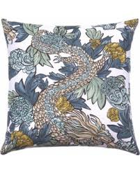 Decorative Pillow Sale Black Friday Sales On Designer Decorative Pillow Cover Ming Dragon