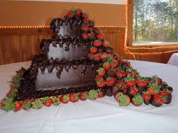 top chocolate wedding cake ideas 3 tier wedding cake recipes