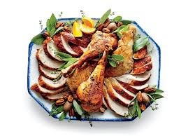how to plate a turkey like a pro southern living