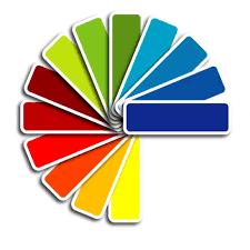 colorful paint palette vector illustration illustrations