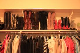 pinterest thrifting organizing my closet and noodles in my boots