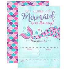 mermaid baby shower invitations pink and purple mermaid baby shower invitation mermaid baby shower
