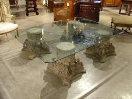 stone and glass coffee table stone top coffee table bonners furniture