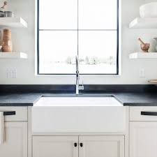 how to install farm sink in cabinet 36 x 18 plain front fireclay reversible apron farmhouse sink white