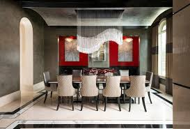 Eclectic Dining Room Chairs Eclectic Dining Room With Limestone Tile Floors By Alana
