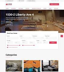 80 best real estate website templates free u0026 premium freshdesignweb