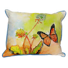 butterfly extra large zippered indoor or outdoor pillow u2013 kovi
