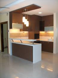 Small Kitchen Tv by Kitchen Bar Counter Large Led Tv Brown Ceramic Tile Floor Best Bar