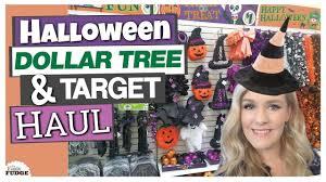 dollar tree u0026 target halloween haul 2017 youtube