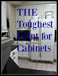 White Kitchen Cabinet Paint The Toughest Paint For Cabinets