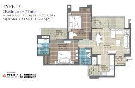 2 bhk 1209 sq ft apartment for sale in rg residency at rs 5540 8