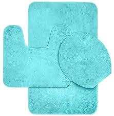 manificent lovely 3 piece bathroom rug sets bath mat set 3 piece