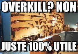 Overkill Meme - overkill non burt gun wall meme on memegen