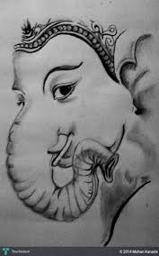 ganesh sketch touchtalent for everything creative