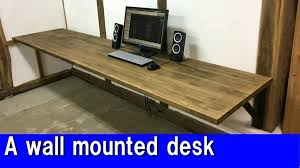 Diy Floating Computer Desk Wall Mounted Desk Diy Corner Desk Ideas To Build For Your Office