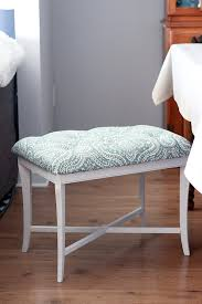 diy tufted bench just a and her blog