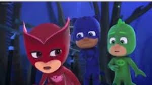 pj masks cartoon ep 2 owlette flash flip trip catboy