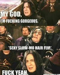 Hair Flip Meme - dopl3r com memes em fucking gorgeous seny slow mo hair flip fuck