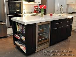 kitchen island with refrigerator kitchen island with wine cooler absurd fridge yes home interior 13