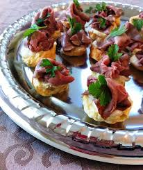 canap ap o celebrating downton emmy win with pudding canapés