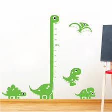 children growth chart little cartoon dinosaurs kids wall art children growth chart little cartoon dinosaurs kids wall art sticker